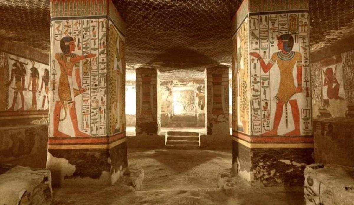 Visite agora a tumba da Rainha Egípcia Nefertari