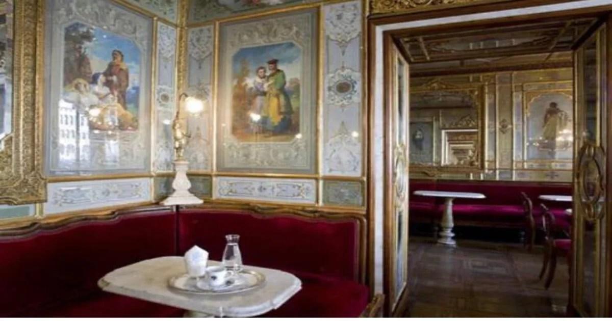 Caffe Florian a Cafeteria mais antiga do mundo
