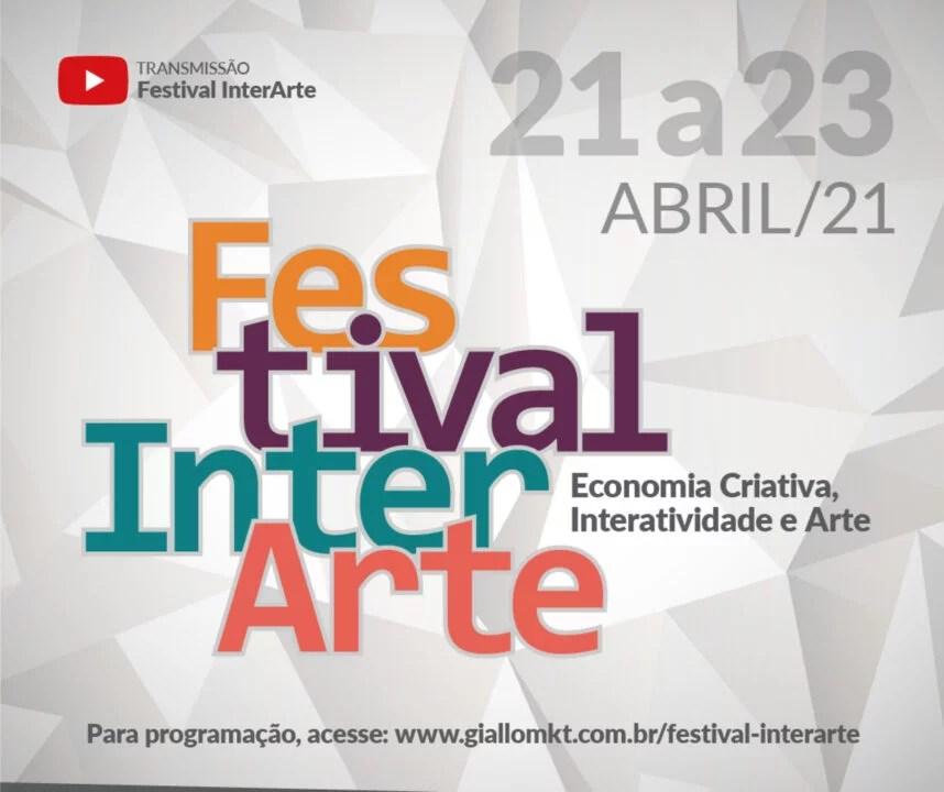 Ta chegando o Festival InterArte, Participe!