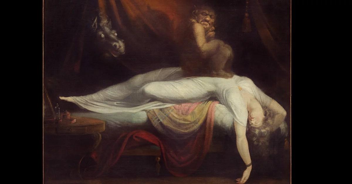 """Do sono ao sonho: """"O pesadelo"""" do artista Henry Fuseli"""