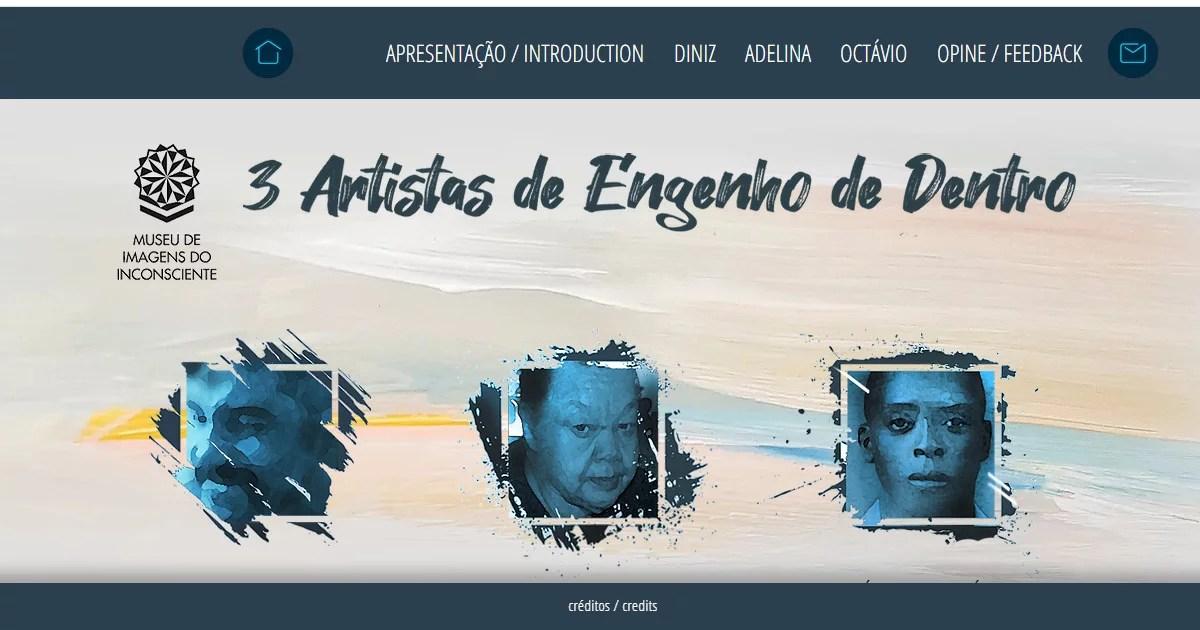 """Museu de Imagens do Inconsciente abre exposição """"Três Artistas de Engenho de Dentro"""""""