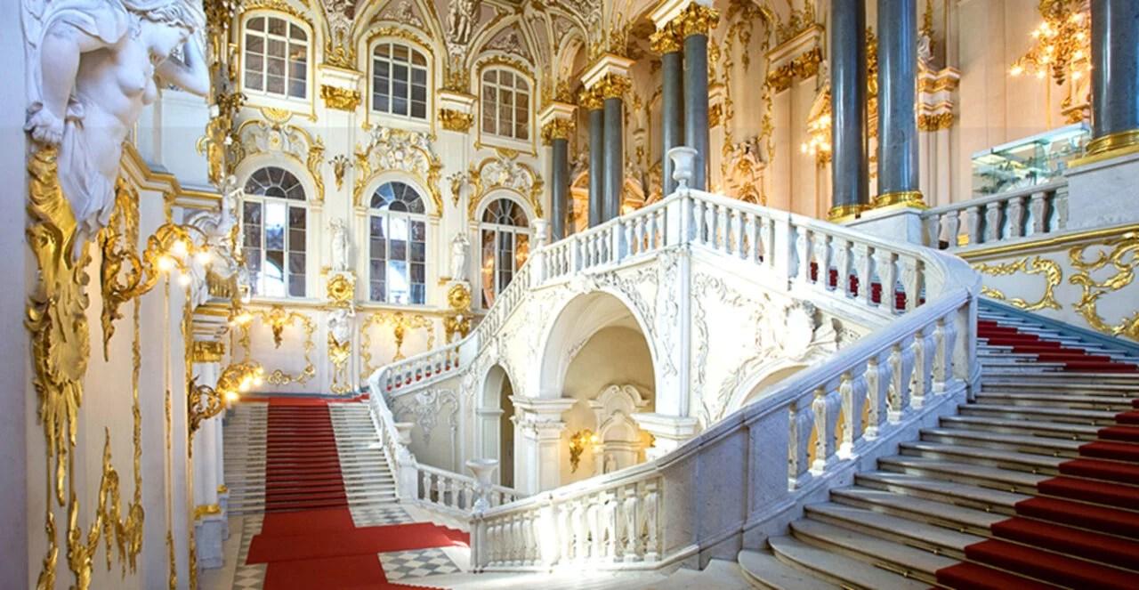 Tour Virtual gratuito no  Museu de Hermitage