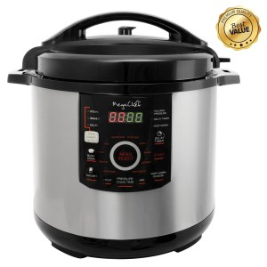 12 Quart Steel Digital Pressure Cooker