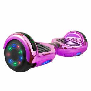 Hoverboard in Purple Chrome