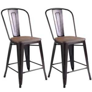 Copper Rustic Dining Chairs