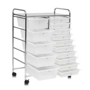 Drawers Rolling Storage Cart