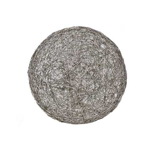 Silver Iron Wire Sphere