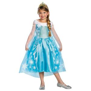 Frozen Elsa Child Deluxe 3T-4T with free and fast home shipping