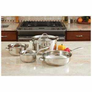 Heavy Duty Stainless-Steel Cookware Set with no shipping cost.