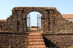 The access to the fort