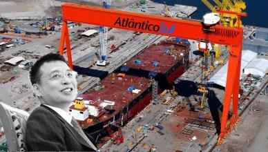 estaleiro china mão de obra barata