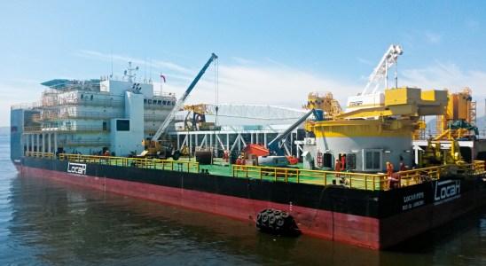 Empresa maritima embarcação naval locar