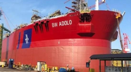 Primeiro petróleo flui do campo de Tortue, no mar do Gabão