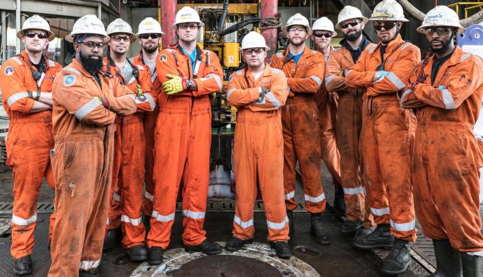 vagas seadrill exxonmobil offshore