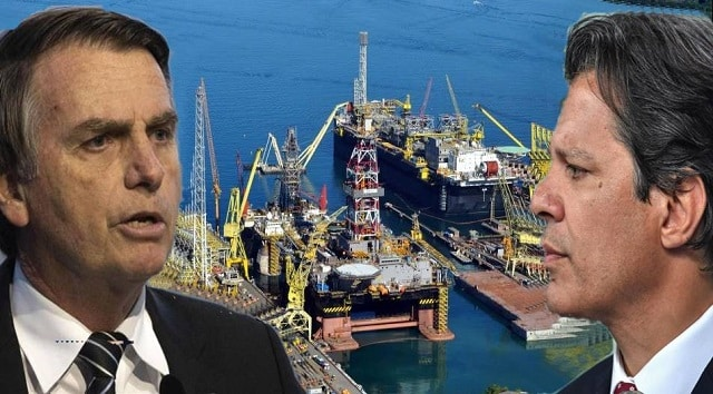 Bolsonaro Haddad petróleo