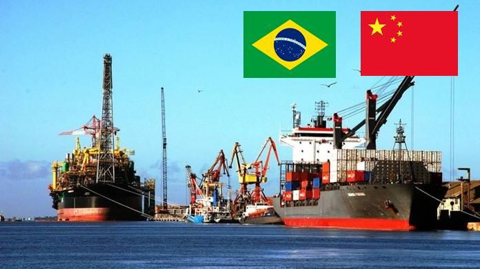 Brasil china exportações minerio