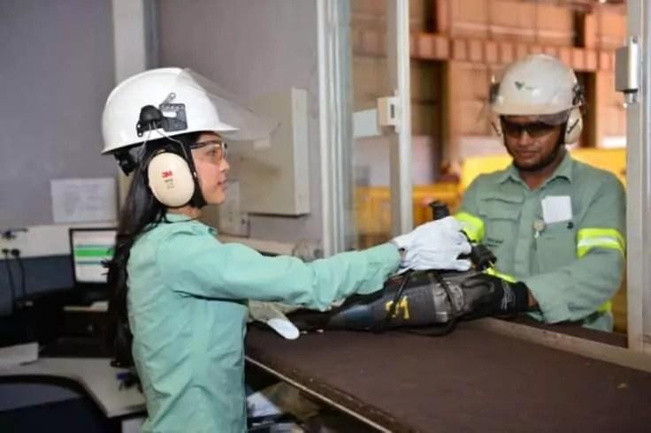 Mineradora – vale – emprego
