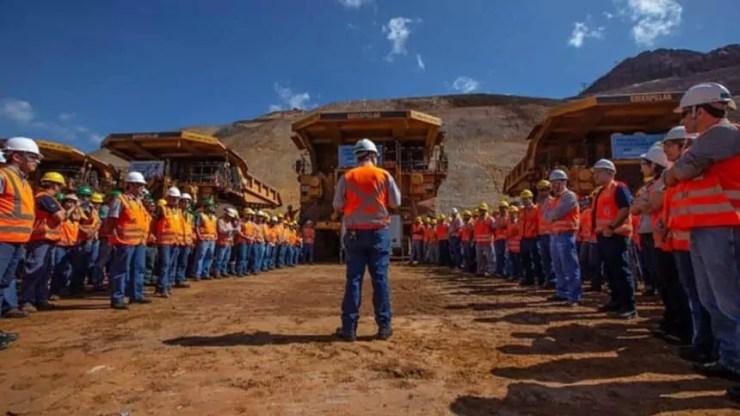 Mineradora – emprego – Minas Gerais