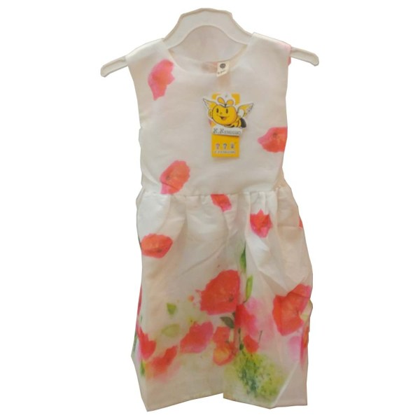baby girls suit - white color dress