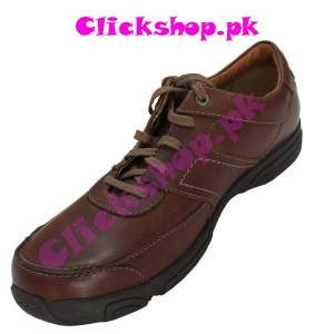 Dark Borwn Shoes for young boys - Model Clark