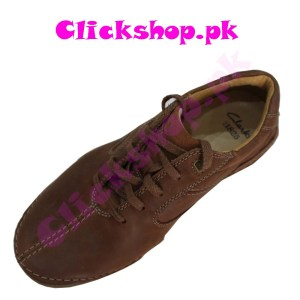 Light Brown Shoes for Young Boys - Brand Clark