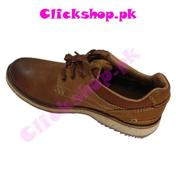 British Shoes Brand Clark Color Brown