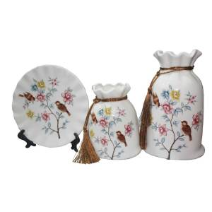 Ceramic Decorated material for home use