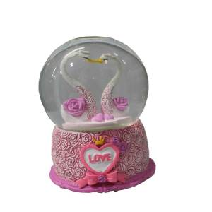 Pinky Bird inside glass decoration product