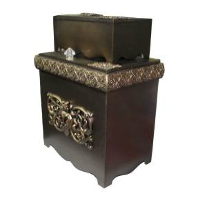 decorated Dustbin and tissue box for personal use