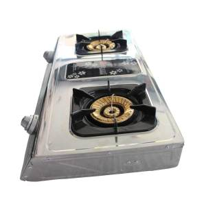 Pakistani National double gas cooker - online shop in pakistan, kpk, mingora, swat, china market.