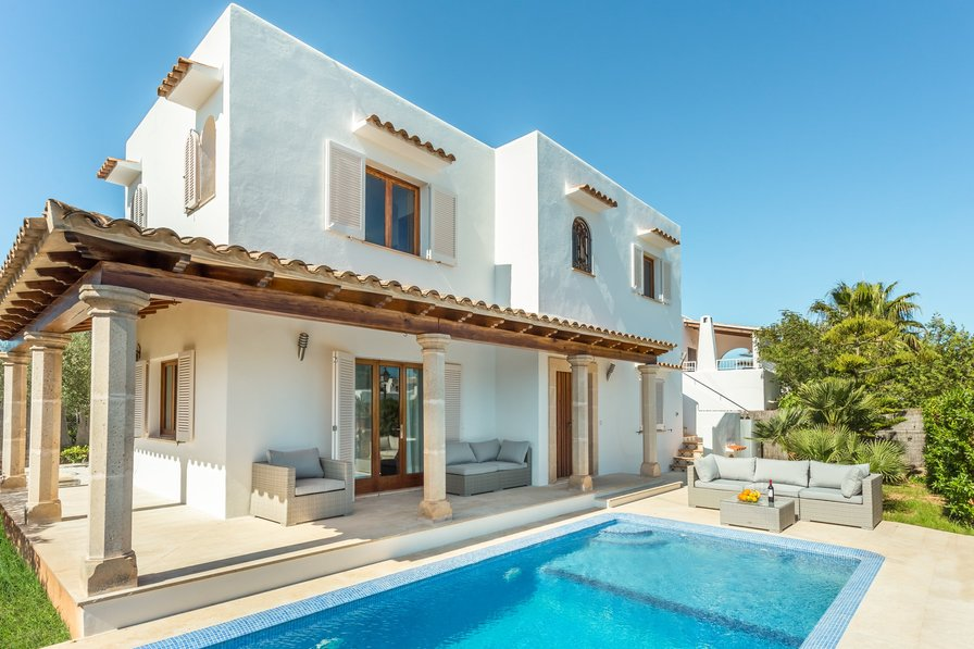 Villa To Rent In Cala DOr Majorca With Private Pool 188091