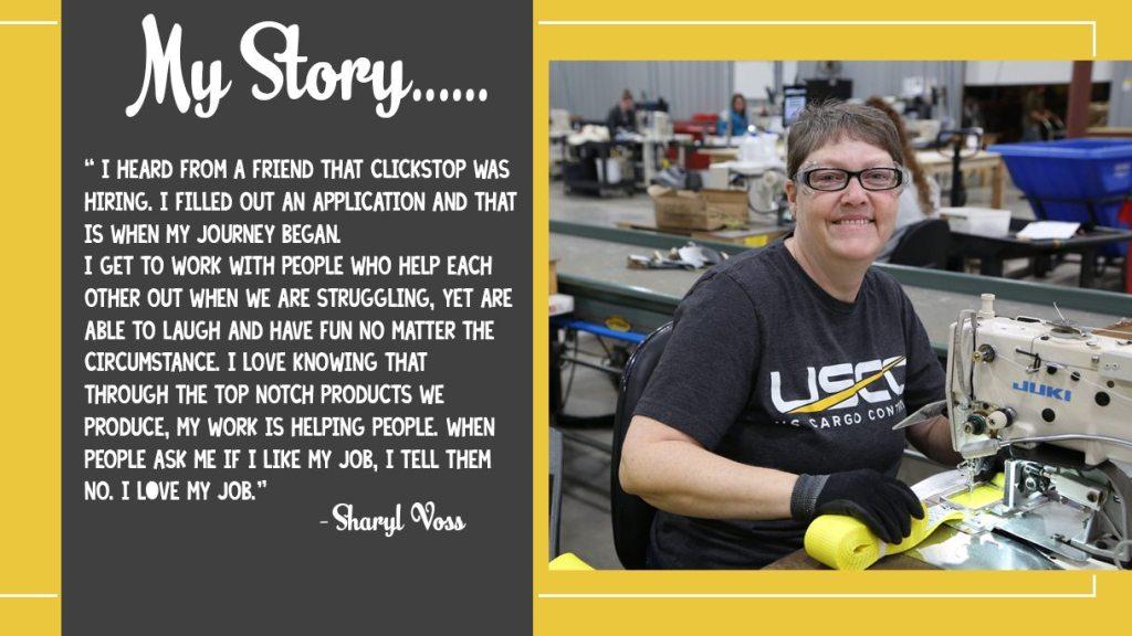 Clickstop Story: Sharyl