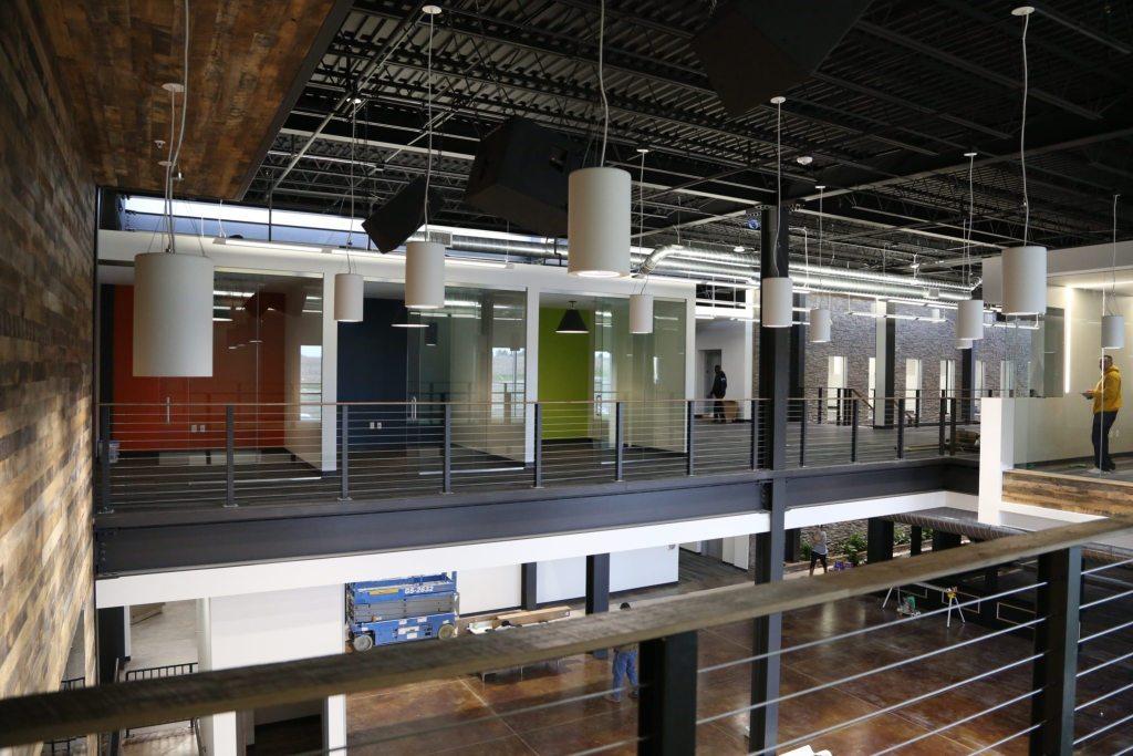Second Floor common space
