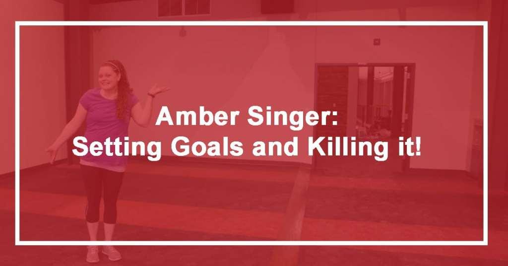 Amber Setting Goals
