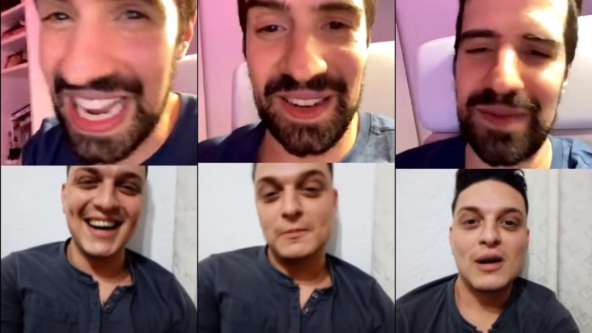 Martín Cirio tuvo sexo virtual con Damián de Bake Off