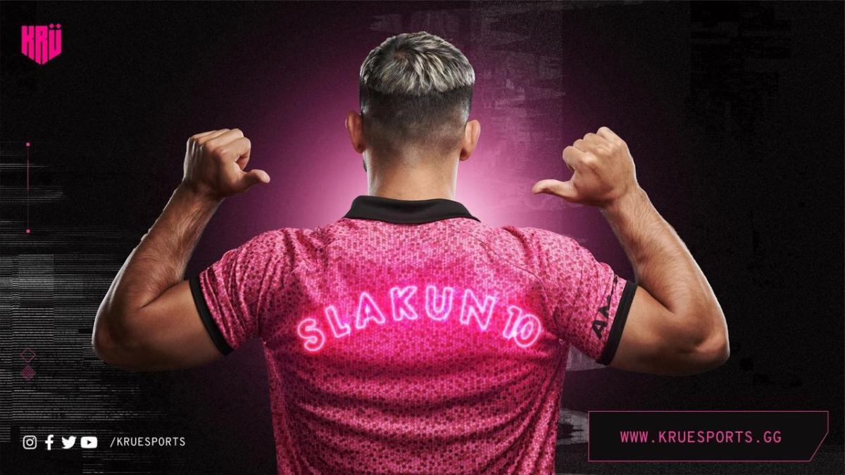 El Kun Agüero lanzó su equipo de esports