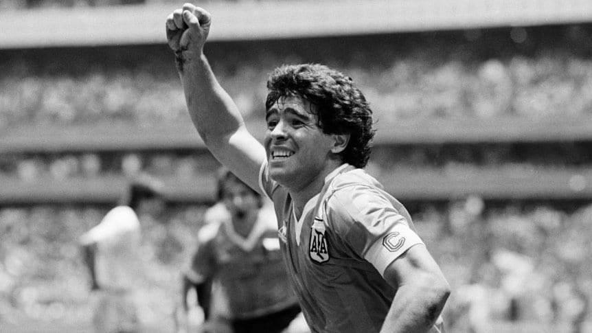 El mundo influencer despide a Diego Armando Maradona