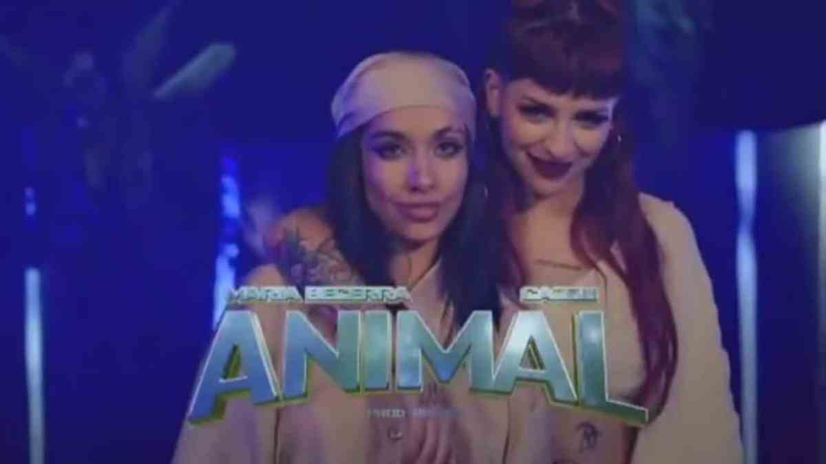 """Cazzu anunció el lanzamiento de """"Animal"""" junto a María Becerra"""