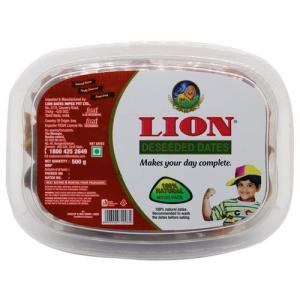 Lion Dates - Deseeded, 500g Cup