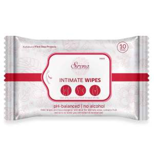 INWI Intimate Wet Wipes, 10 pcs Pack of 3 - ClickUrKart