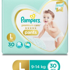 Pampers Premium Care Pant Diapers Large - 30 Pieces