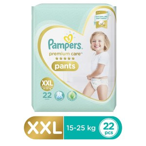 Pampers Premium Care Pants Diapers, XX Large - 22 Pieces