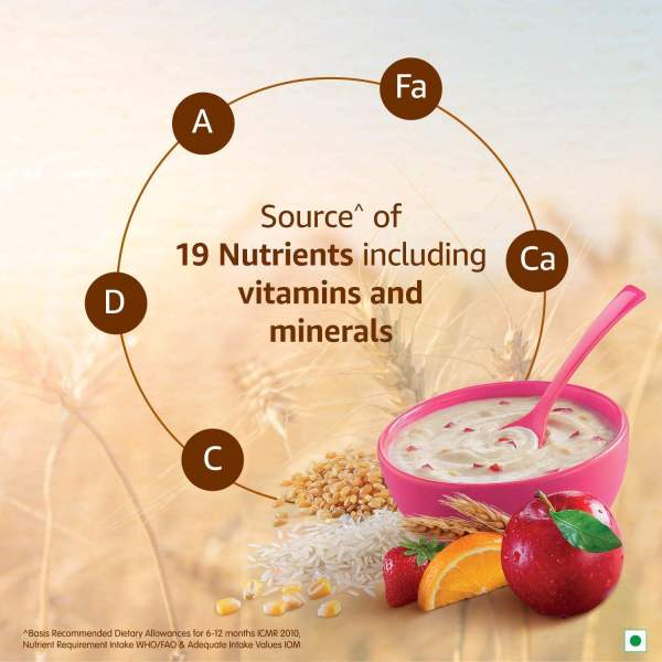 Nestle Cerelac Fortified Baby Cereal With Milk, Wheat-Rice Mixed Fruit - From 10 Months, 300 g - ClickUrKart