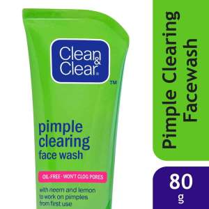 Clean & Clear Pimple Clearing Face Wash, 80g - ClickUrKart