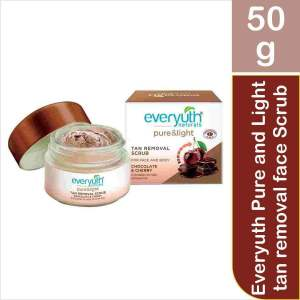 Everyuth Pure and Light tan removal face Scrub, 50g - ClickUrKart