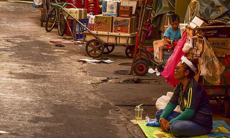 Bangkok scorci di vita per le strade