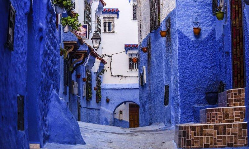 Marocco Chefchauen La Città Blu