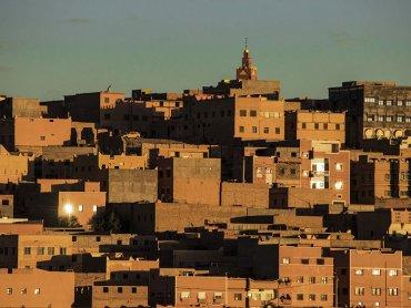 Marocco Città Tipica dell\\\\\\\