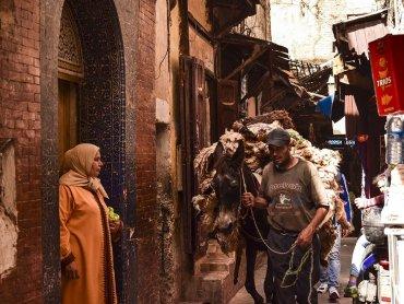 Marocco Fes Vita nella Medina