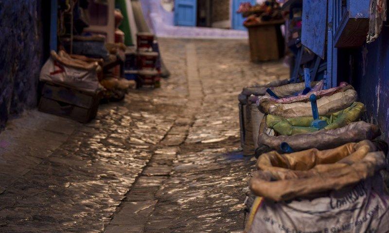 Marocco Scorcio di Chefchauen